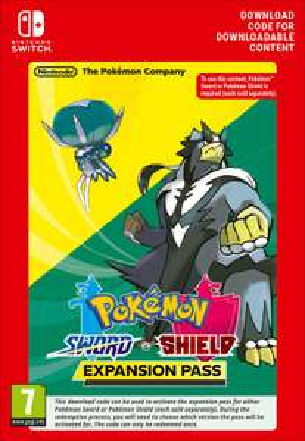 Pokemon Schwert / Schild Erweiterungspass (Insel der Rüstung & Die Schneelande der Krone) / Key (Switch)