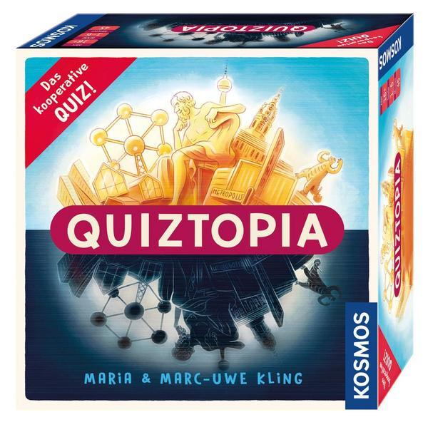 Brettspiele bei bol.de: z.B. Quiztopia von Marc-Uwe Kling für 22,22€