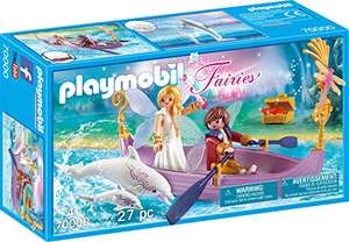 Playmobil Fairies - Romantisches Feenboot (70000) für 5,99€ (Amazon Prime & Real Abholung)