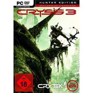 Vorbestellaktion Crysis 3 - Hunter Edition (uncut) + Beta Key + Stalker-Pack und Crysis 1 gratis