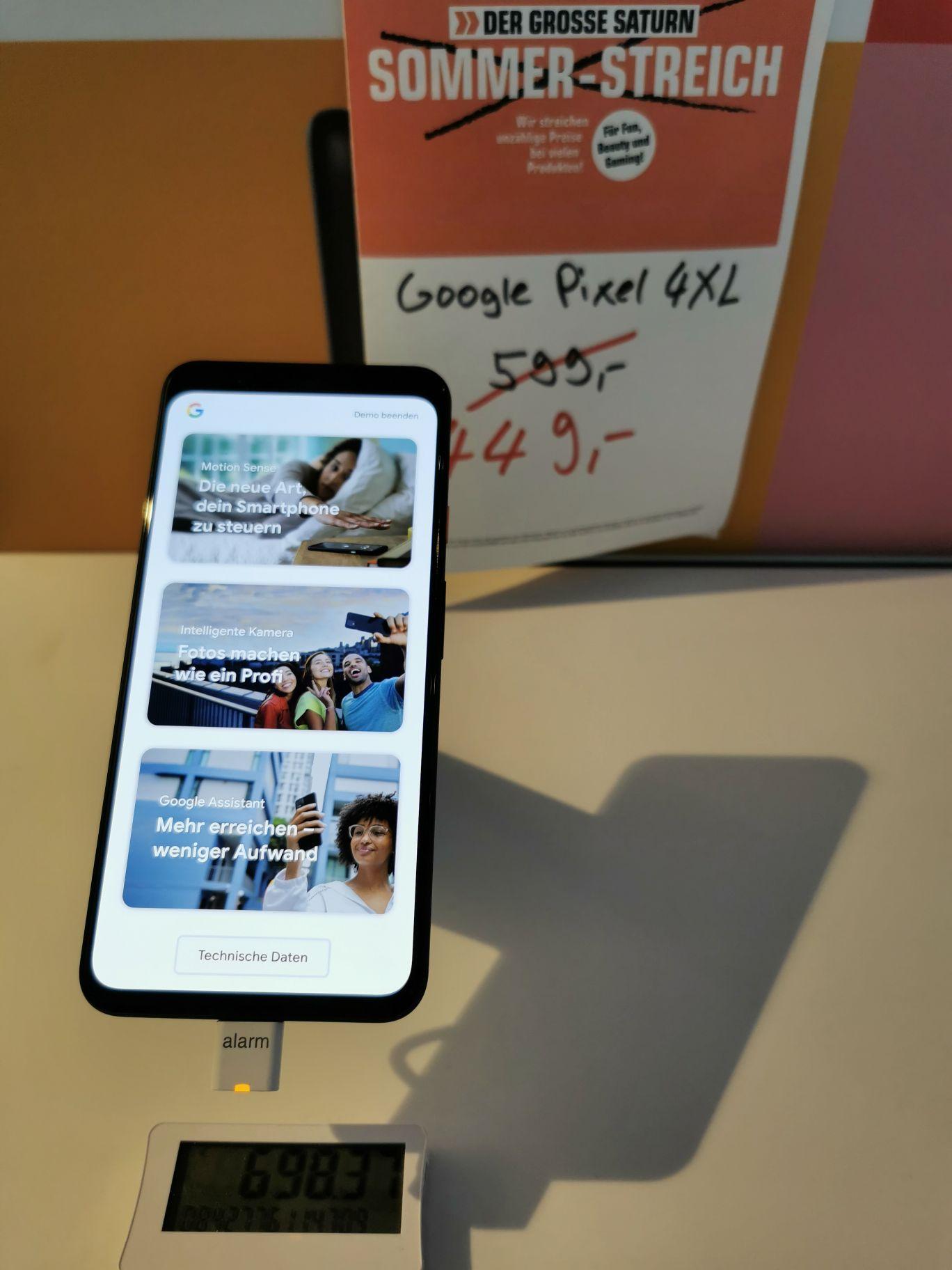 Lokal Google Pixel 4 XL 64GB Saturn Sevens Düsseldorf für 449,00