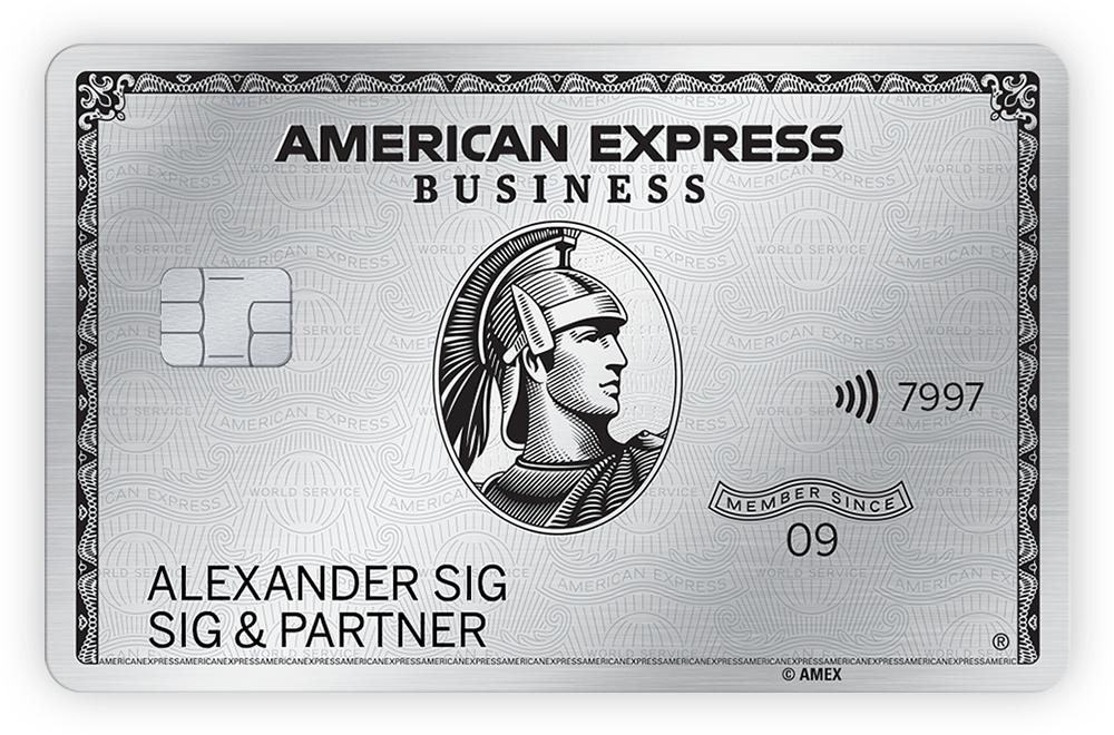 [Gewerbe] American Express Business Platinum mit 100.000 MRP
