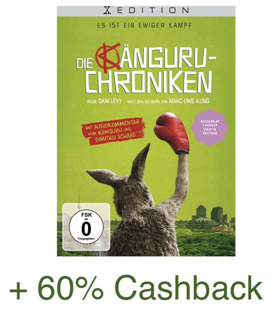 Die Känguru-Chroniken DVD für 12,66€ + 60% Cashback (rechnerisch ca. 6,11€ Endpreis) - [Shoop / Saturn Abholung]