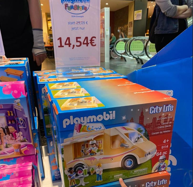 [lokal Playmobil FunStore Leipzig] Playmobil 9114 Ice Cream Truck