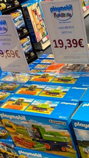 [lokal Playmobil FunStore Leipzig] Playmobil 9532 Mähdrescher limited Edition