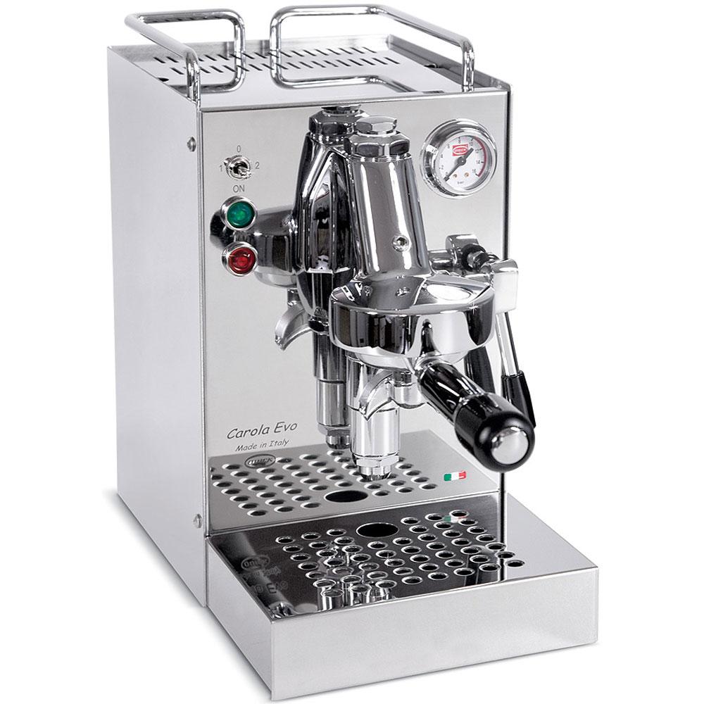Quickmill 0960 Carola inox Espressomaschine, E61 Brühgruppe, PID, 0,75 Liter Messingkessel [kaffeezentrale.de]
