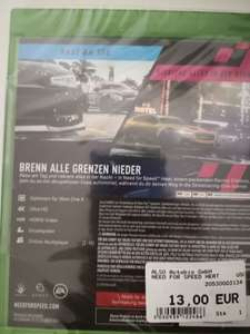 (LOKAL EXPERT Dachau) Need for Speed Heat 13 € (Xbox One)