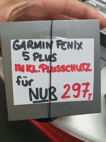 Lokal - Fenix 5 Plus +1Jahr Mediamarkt Aschaffenburg Plusgarantie