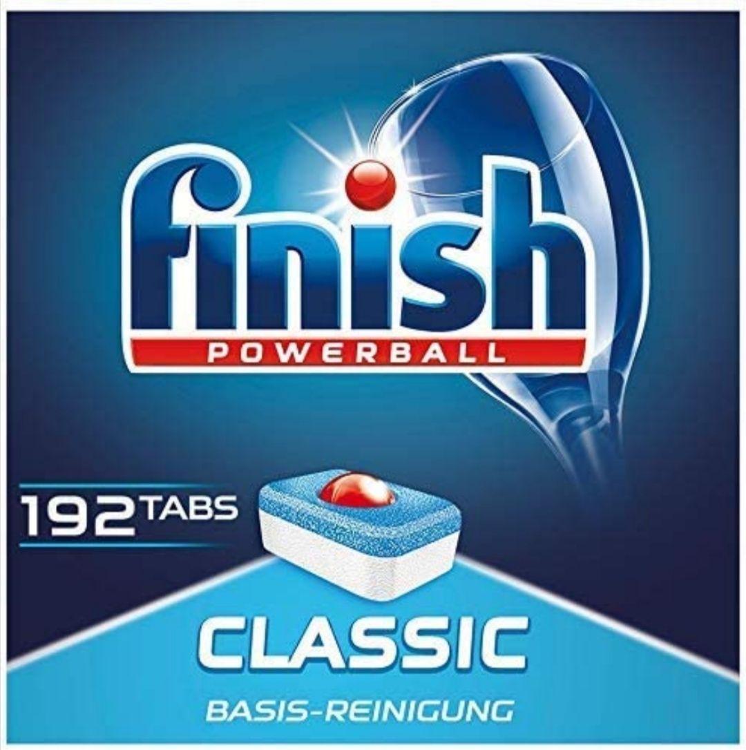 192 Finish Classic Spülmaschinentabs Sparabo