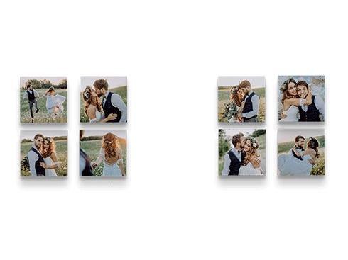 12 MIXPIX versandkostenfrei - 20x20cm große Bilder, magnetische Befestigung (3,33 pro Stück)