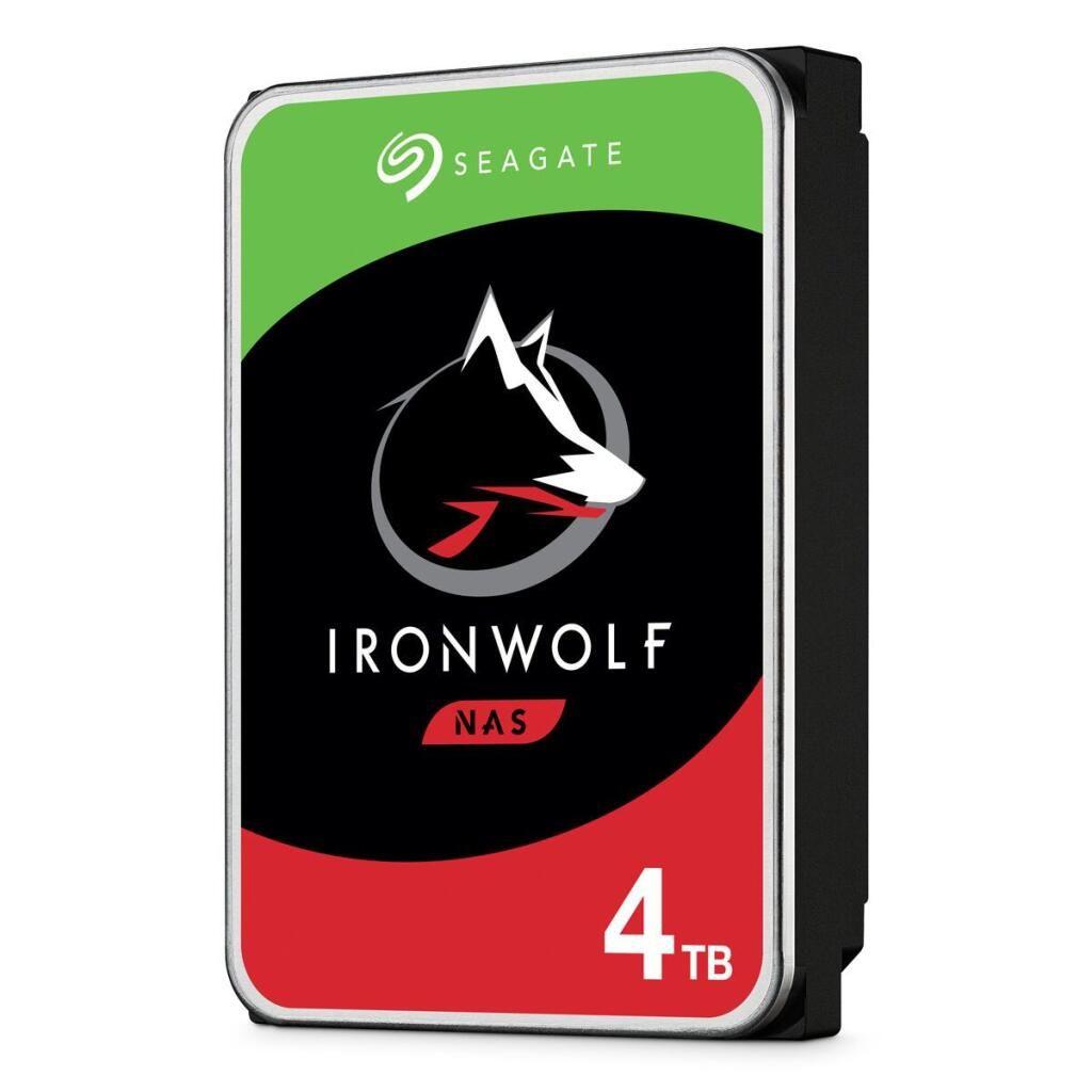 Seagate IronWolf NAS HDD 4TB, SATA 6Gb/s CMR (ST4000VN008) [Mediamarkt/Saturn]