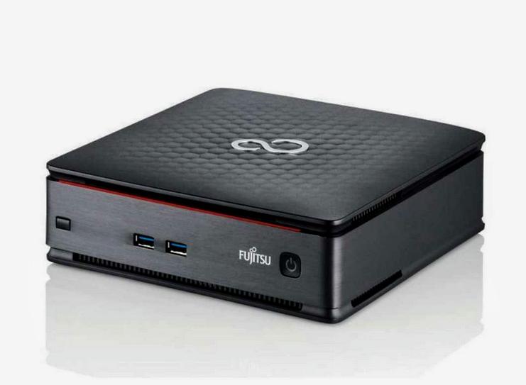 [aufbereitet/gebraucht] Fujitsu Esprimo Q920 i5-4590T 8GB 500GB HDD Windows 10 USFF Mini-PC