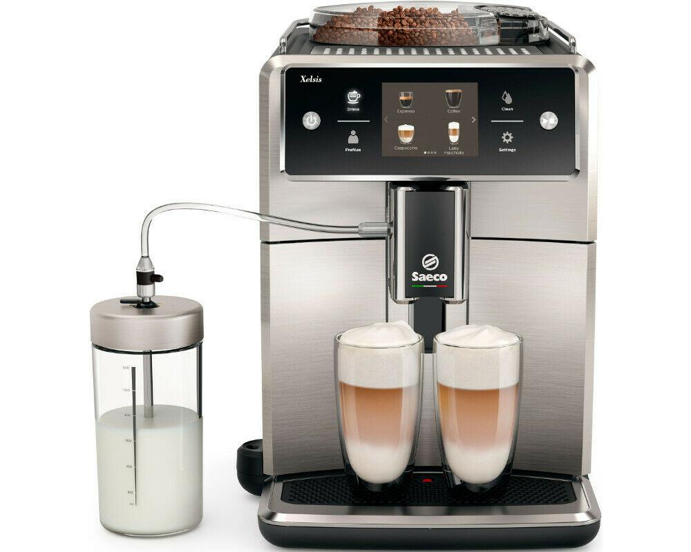 Sammeldeal zum Beispiel SAGE SES880BTR4EEU1 the Barista Touch Espressomaschine oder SAECO SM7683/10 Kaffeevollautomat Edelstahl für 777€