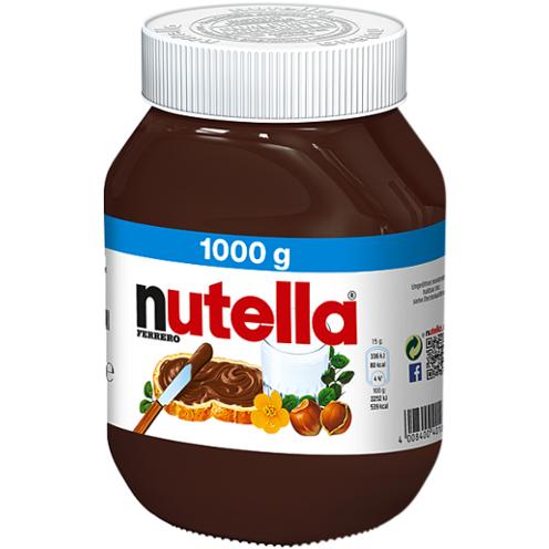 Netto MD - Nutella 1kg - 3,91€