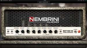 [VST / Gitarre / Musik ] BST100 V2 Super Overdrive Guitar Amp Plugin Software von Nembrini Audio