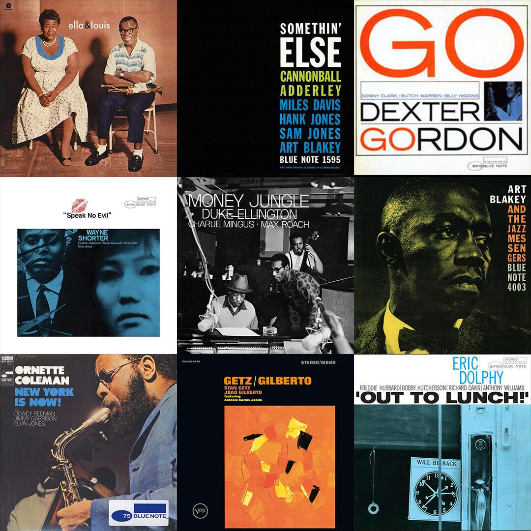 Jazz Vinyl Starter Kit inkl. 10 Mystery Vinyls inkl. bekannter Jazz Musiker!