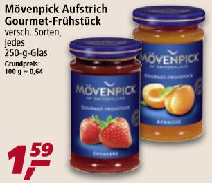 [real] Mövenpick Gourmet-Frühstück in verschiedenen Sorten für je 1,59 Euro
