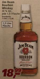 Jim Beam Kentucky Straight Bourbon Whiskey | 40 % vol | 1,5 l