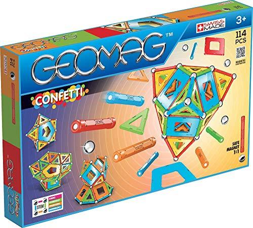 [Amazon.es] Geomag Set 114-teilig, Classic Confetti, 357, Magnetkonstruktionen und Lernspiele - Bestpreis