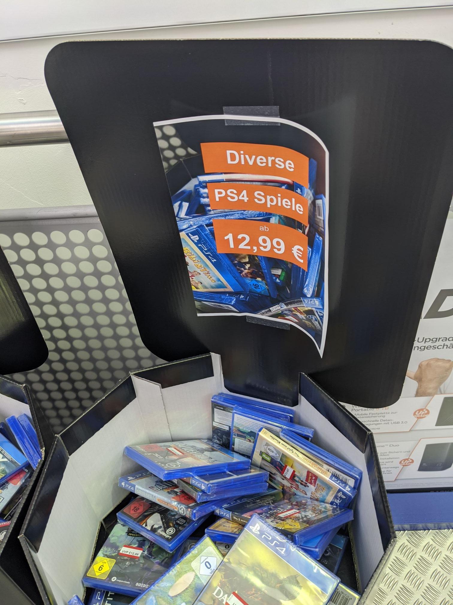 [Lokal Saturn Neu-Isenburg] Diverse PS4 & PC Spiele