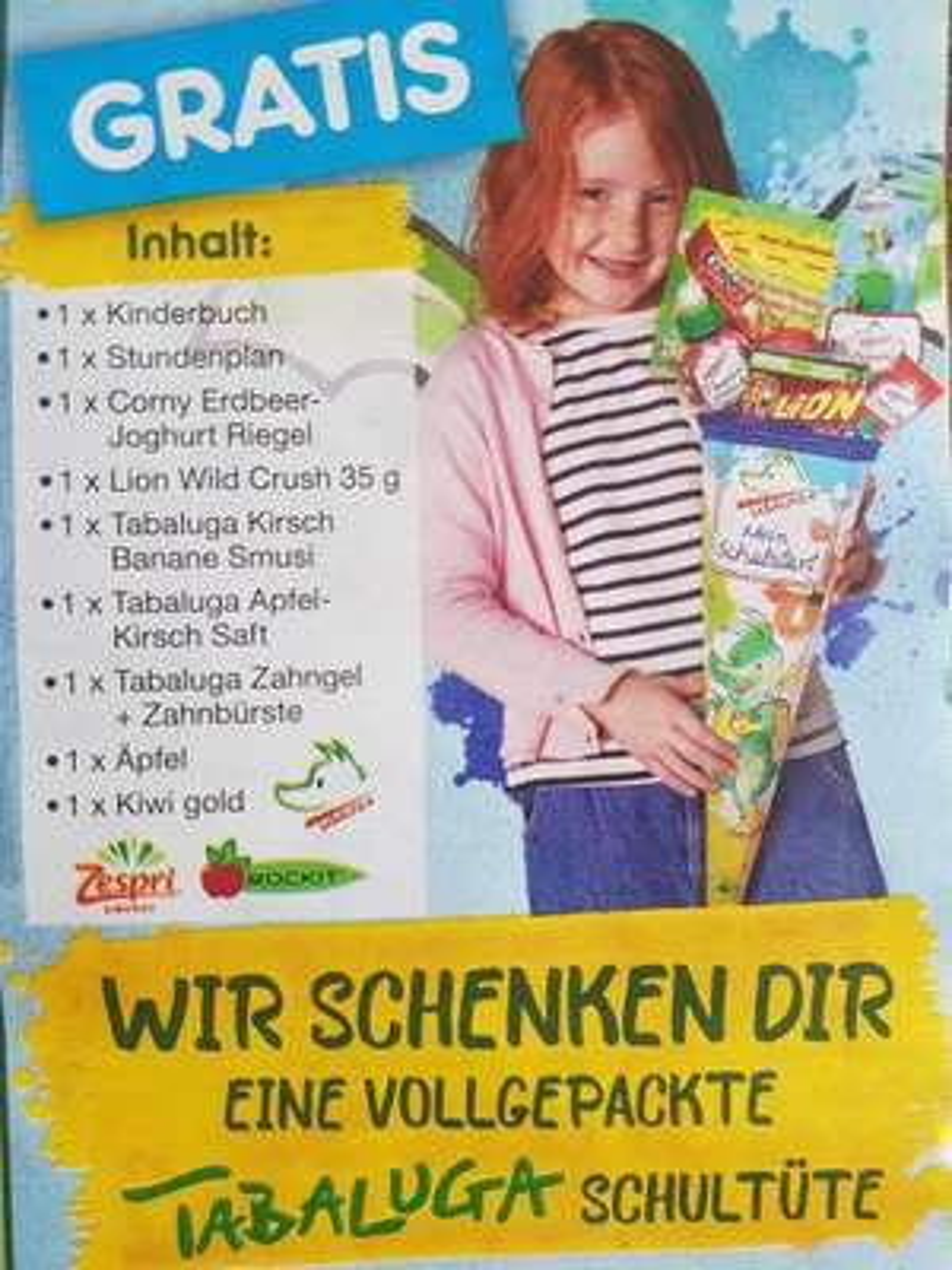 Gratis Schultüte, jetzt auch Baden-Württemberg [Netto]
