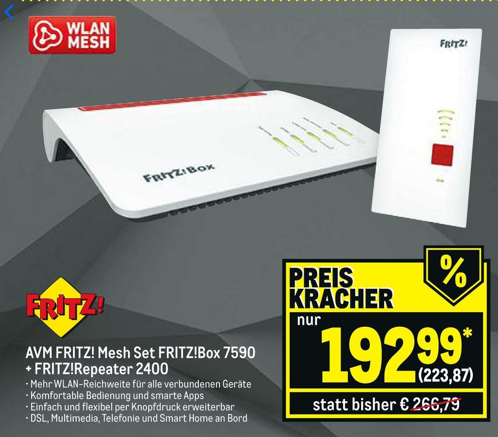 AVM Fritzbox 7590 & FritzRepeater 2400