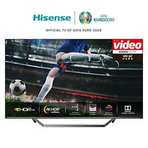 Hisense 55U7QF FALD local dimming, bis 700 cd/nits hell, nur 17 ms input lag