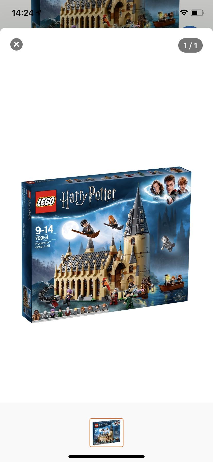 Lego 75954 Harry Potter - Die große Halle von Hogwarts