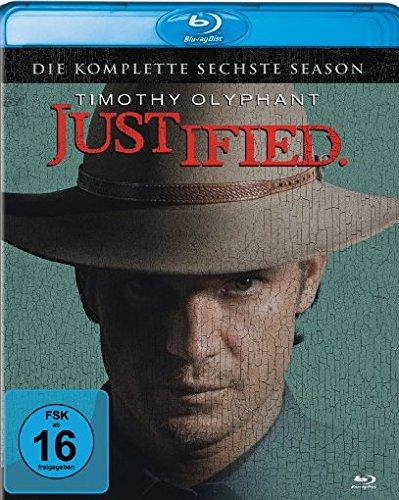 Justified - Die komplette sechste Staffel (Blu-ray) für 6,98€ (Amazon Prime)