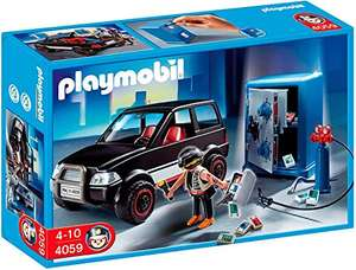 Playmobil Tresorknacker mit Fluchtfahrzeug (4059) für 16,63€ (Amazon ES)