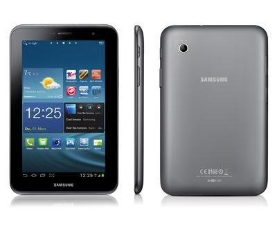 Samsung-Galaxy-Tab 2 (7.0) 16GB (B-Ware) für 179,00€ inkl. Versand