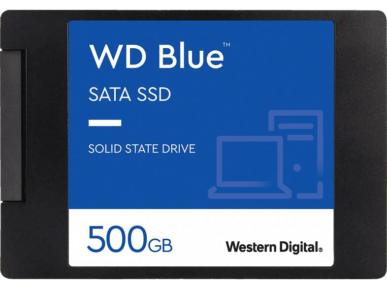 Western Digital WD Blue 3D NAND SATA 500GB SSD 2,5 Zoll intern für 42,77€ inkl. Versandkosten [Saturn ebay]