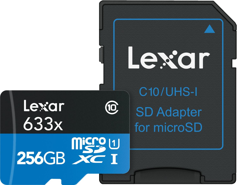Lexar High Performance Speicherkarte 256GB A1 / Video Class V30 / UHS-I U3 / Class10 für 22,81€ inkl. Versandkosten [Saturn ebay]