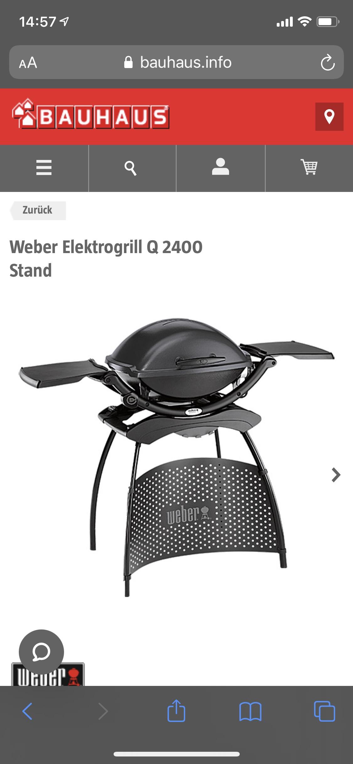 Weber Q2400 mit Tiefpreisgarantie