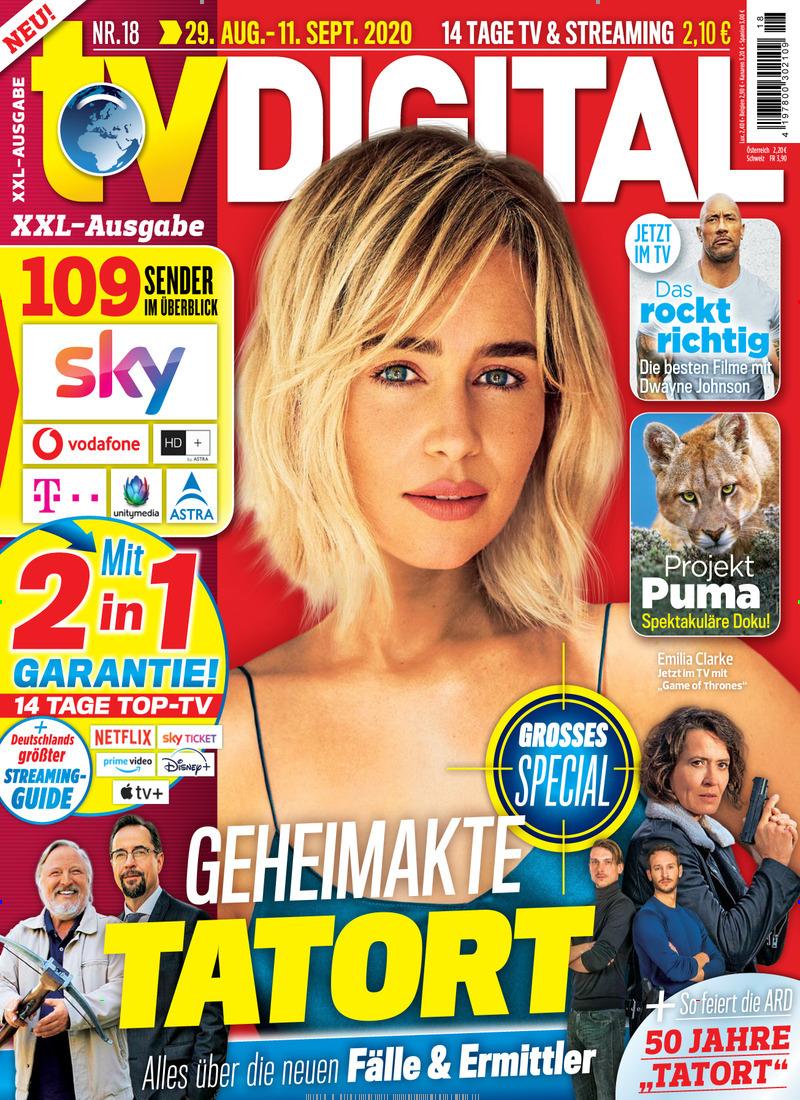 """10 (12) Ausgaben """"TV Digital"""" für 24€ + 20€ Amazon.de Gutschein"""