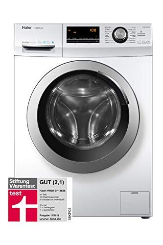 [Amazon] Waschmaschine Haier HW80-BP14636 Frontlader / A+++ / 8 kg / 1400 UpM / Inverter Motor / Vollwasserschutz / ABT [Energieklasse A+++]