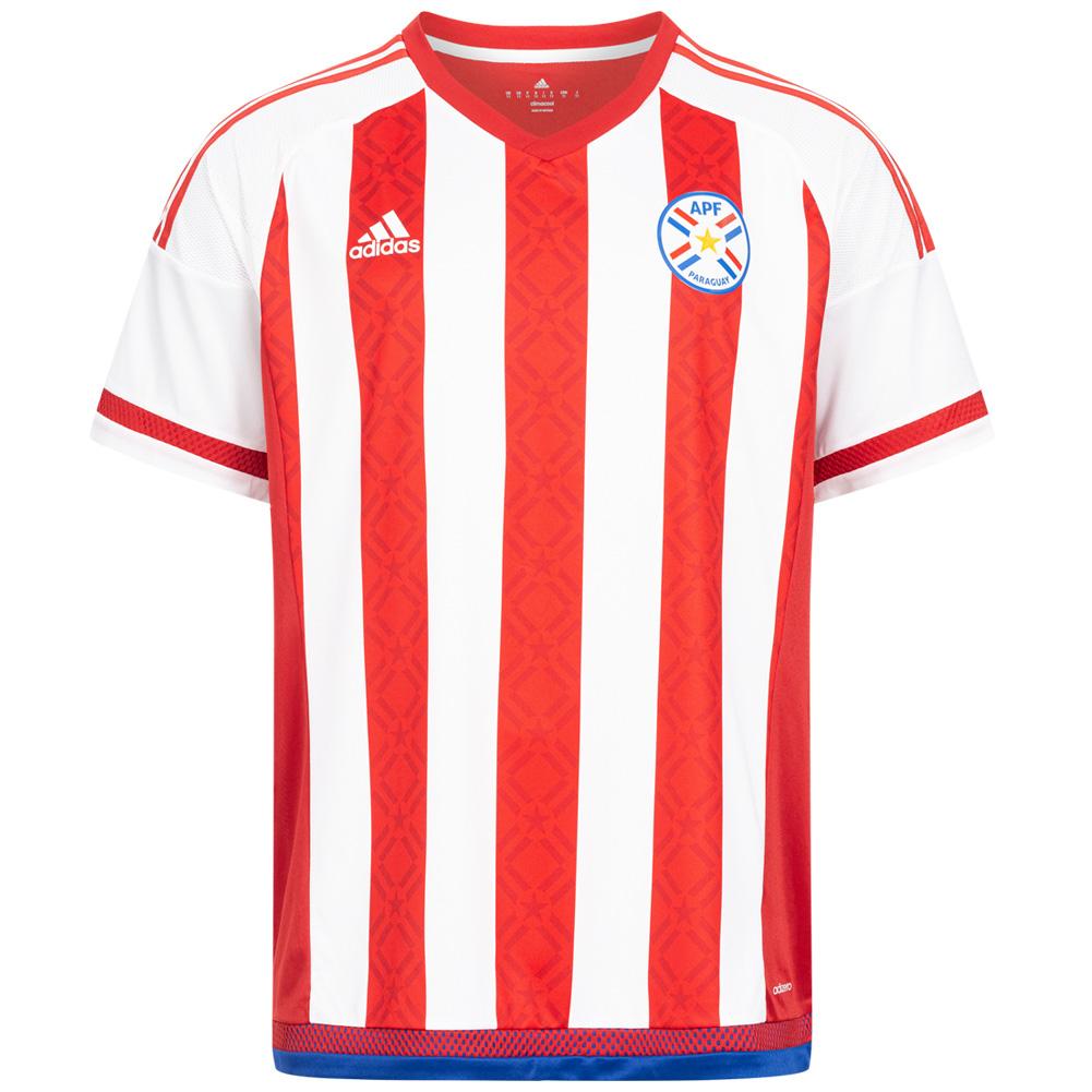 Adidas Paraguay Herren Heim-Trikot für 6,66€ + 3,95€ VSK (Größe XS, S) [SportSpar]