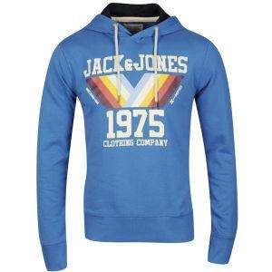 Zavvi:Jack & Jones Men's Mountain Hooded Sweatshirt - Blue für 16,99Pfund~20€