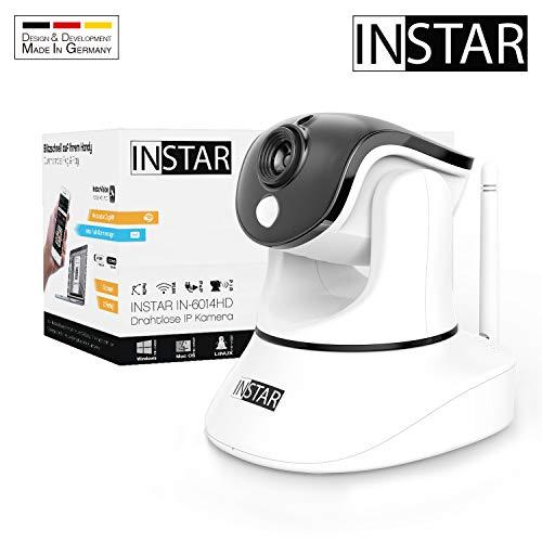 INSTAR IN-6014HD Weiss - schwenkbare IP Innenkamera // INSTAR USB Webcam IN-W1