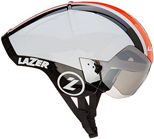 Fahrradhelm Zeitfahren/Triathlon Lazer Wasp Air weiß-orange