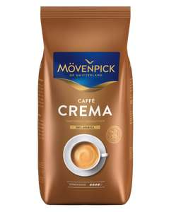 MÖVENPICK Caffè Crema 1000 g ganze Bohne [MÜLLER]