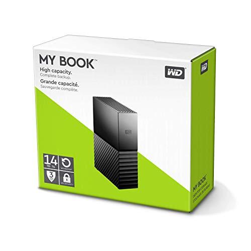 [Amazon.de] Western Digital WD My Book 14TB (WDBBGB0140HBK)