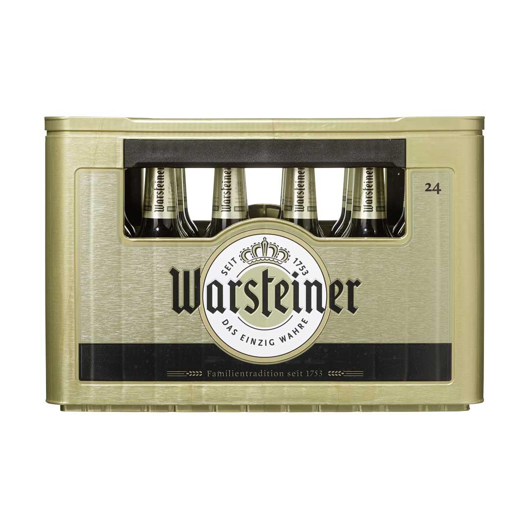 2 Kisten Warsteiner plus 4 Flaschen Warsteiner Grapefruit à 0,5 Liter