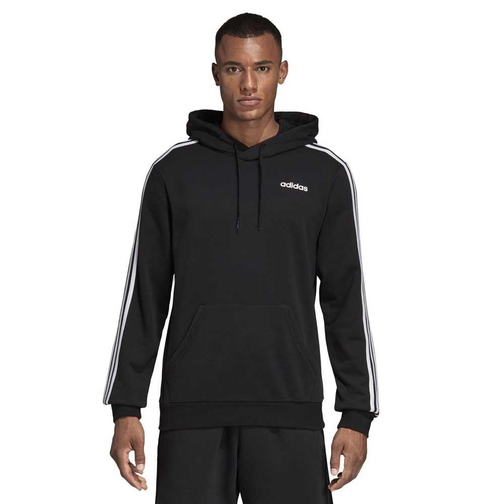 Adidas Hoodie - 3 Stripes - Kängurutaschen