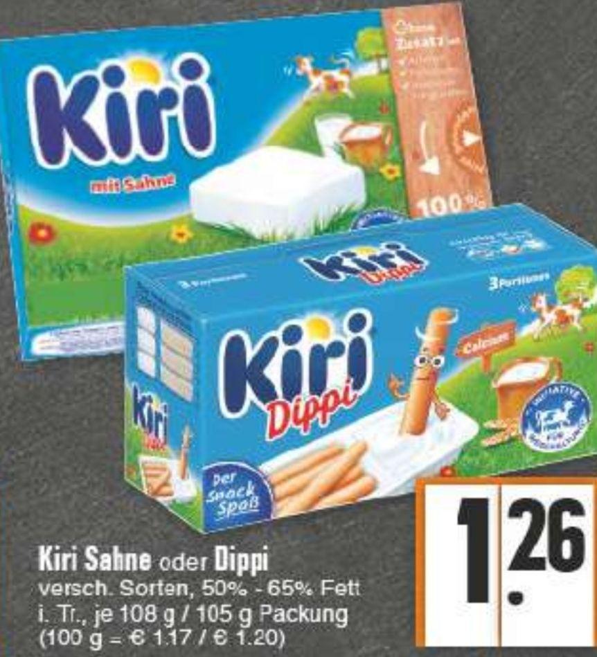 [Edeka Rhein-Ruhr] Kiri Dippi mit Coupon für 0,76€ oder mit Reebate und Scoondo kostenlos mit 4 cent gewinn