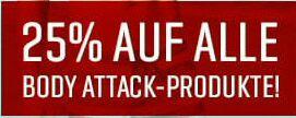 Body Attack SUMMER SALE - 25% AUF ALLES! (von BA)