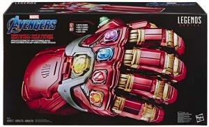 Hasbro Marvel Legends Series Avengers: Endgame Power elektronischer Handschuh mit Gelenken für 67,98€ (Zavvi)