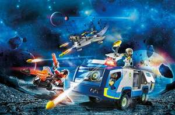 Sammeldeal Playmobil Galaxy Police, z.B. 70018 Truck, Rofu
