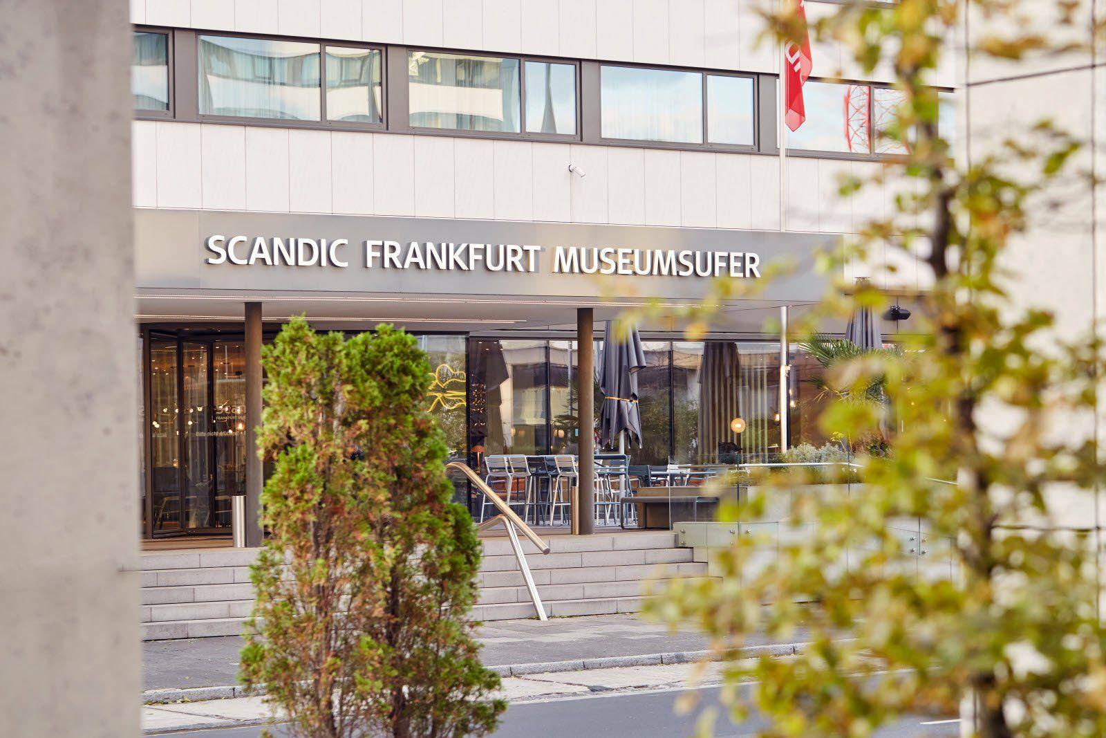 Scandic Hotels als Studentenbude 570€/Monat z.B. Scandic Frankfurt Museumsufer