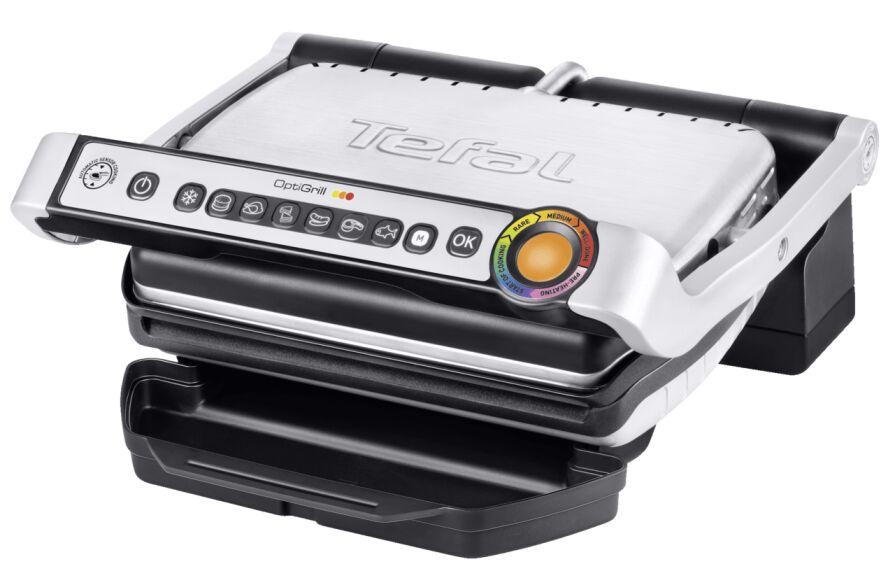 Tefal Optigrill GC705D intelligenter Kontaktgrill mit 6 automatische Programmen für 88€ inkl. kostenloser Füllartikel u. Versandkosten